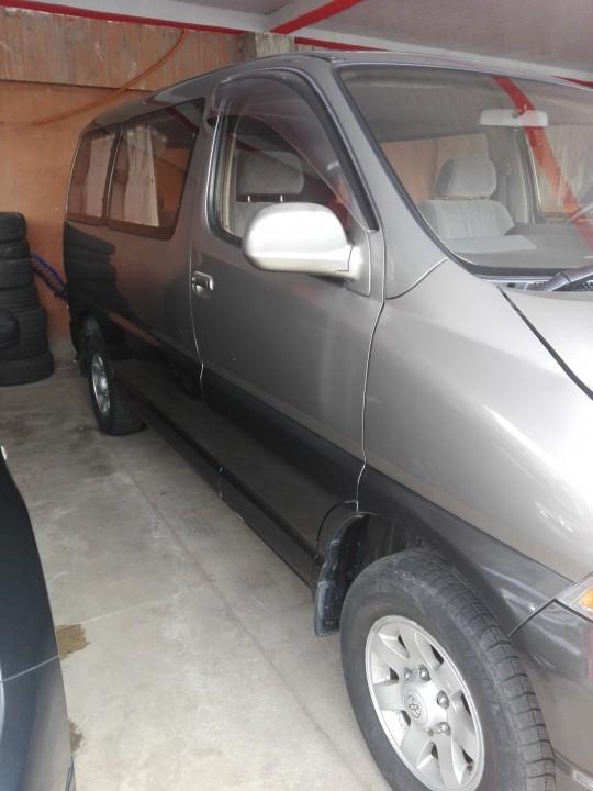 Toyota granvia rec import 3.0 diésel común garantía