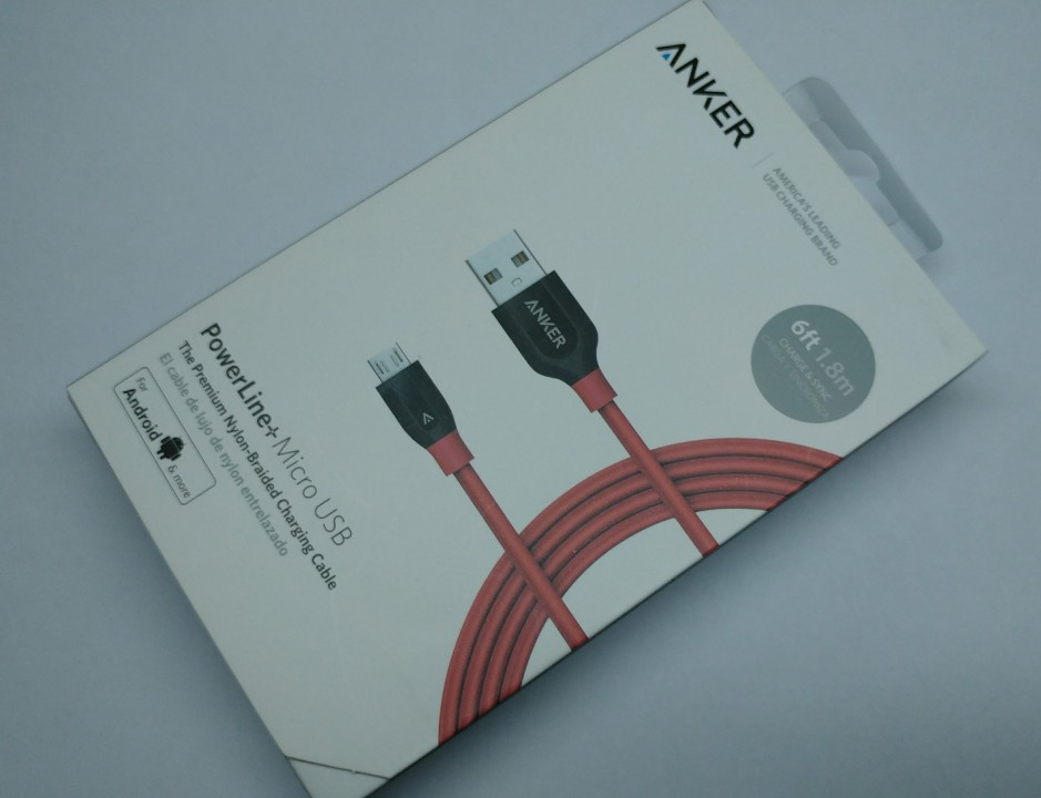 Cable micro USB Anker Powerline+