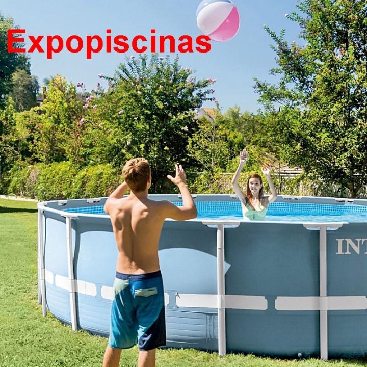 Piscinas Intex de 16.805 lts. con tecnología hydro aireación