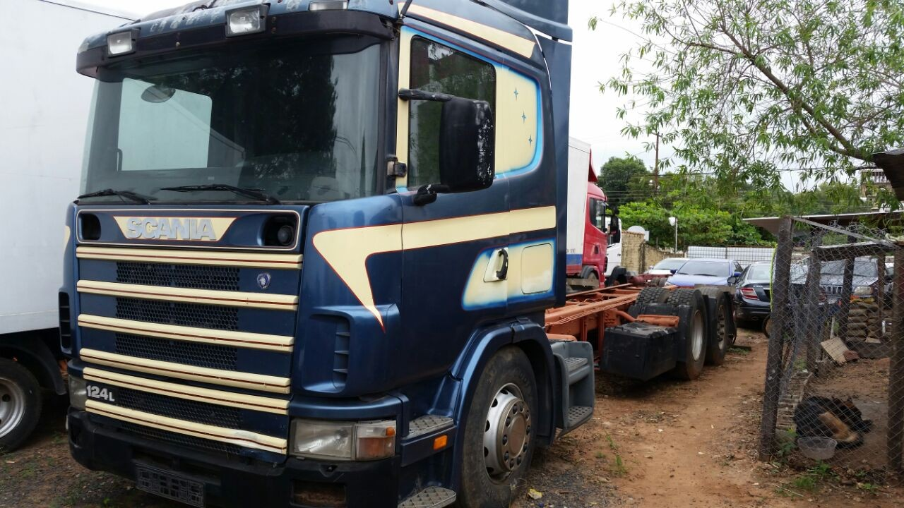 Scania 124 420 chasis largo original 2.000 6x2