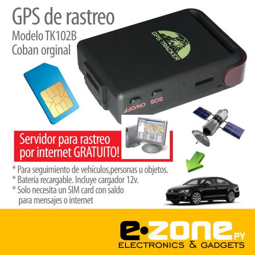 GPS Rastreo COBAN TK102 original funciona c/SIM card