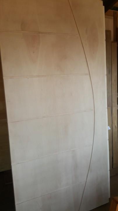 Puerta de interior de puerta placa