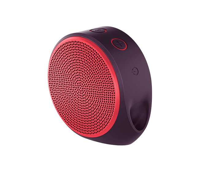 Parlante logitech 984-000389 x100 wireless rojo