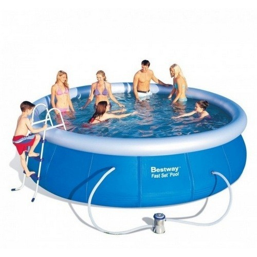 Piscina Bestway 57294 Borde Inflable 12362L c/ Filtro