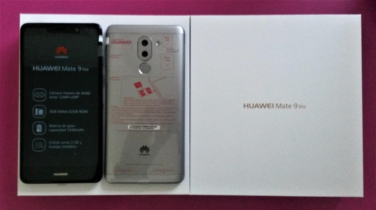 Huawei Mate 9 Lite libres y nuevos en caja