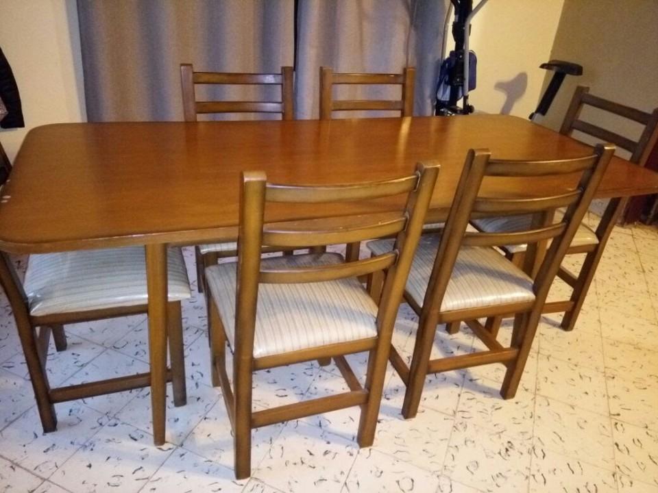 Comedor 6 sillas en paraguay for Comedor 6 sillas usado