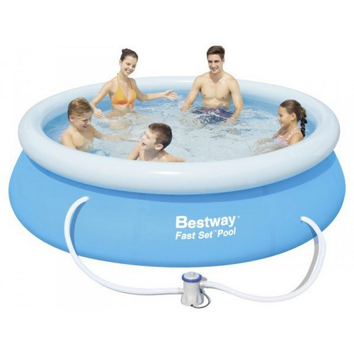 Piscina Bestway 57268 Borde Inflable 2300L c/ Filtro