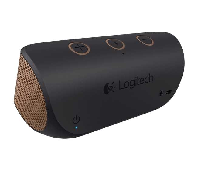 Parlante logitech 984-000393 x300 wireless marron