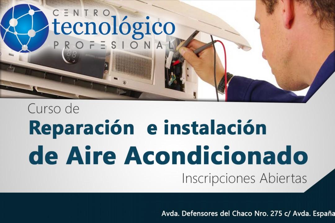 Curso de Reparación e Instalación de Aire Acondicionado