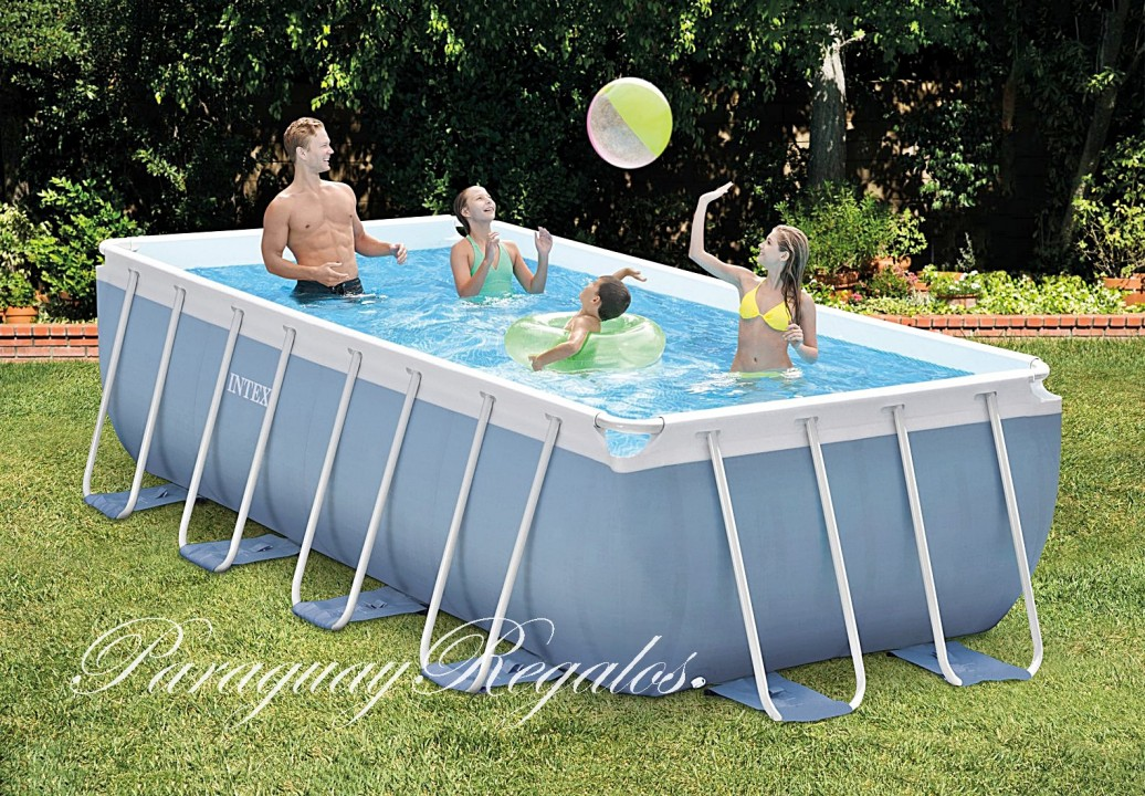 Piscinas en paraguay for Piscinas rectangulares intex