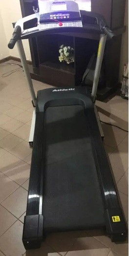 Caminadora athletic advanced 530t para 120 kilos