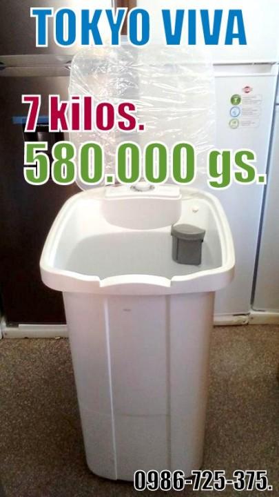 Lavarropas Semi automática