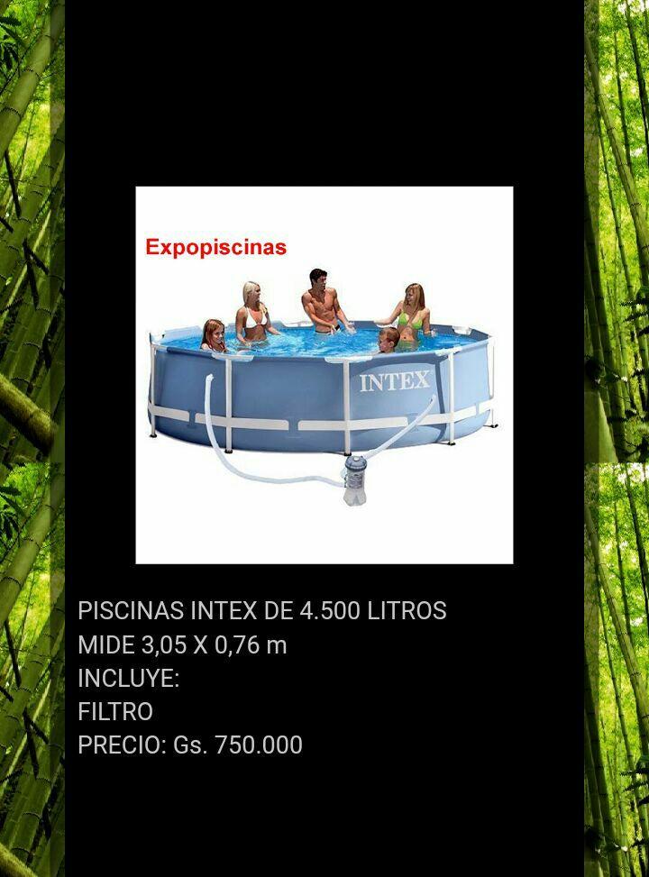 Piscinas INTEX de 4.500 litros con Filtro. Nuevo color