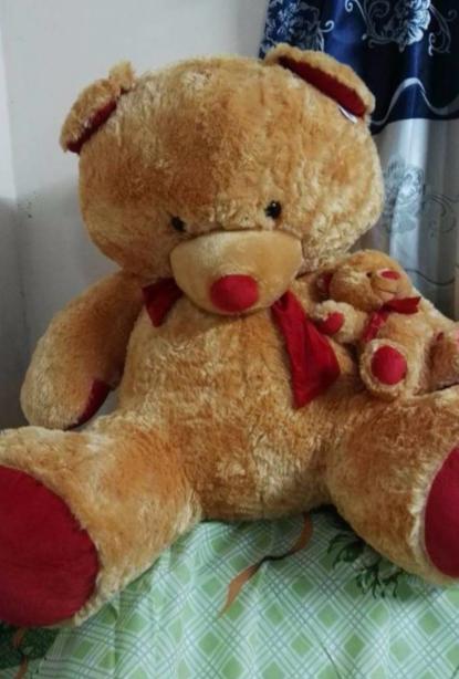 Peluche oso grande con hijito