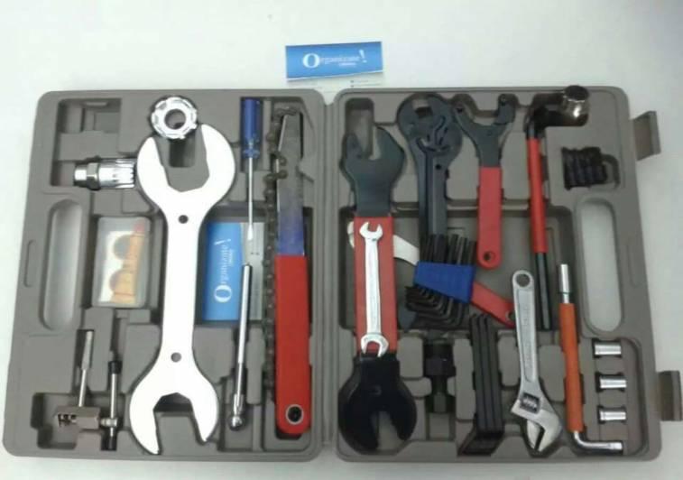 Caja herramientas para la bicicleta