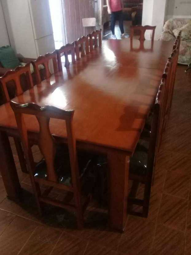 Comedor 12 sillas
