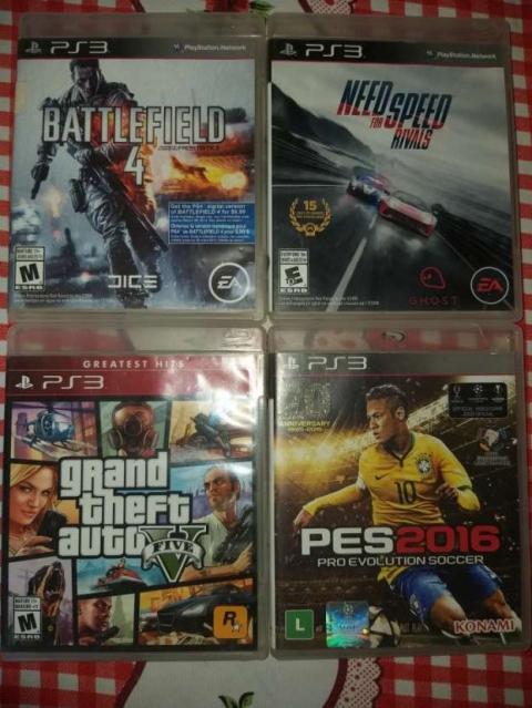 PlayStation 3 con 1 control y 4 juegos - 2