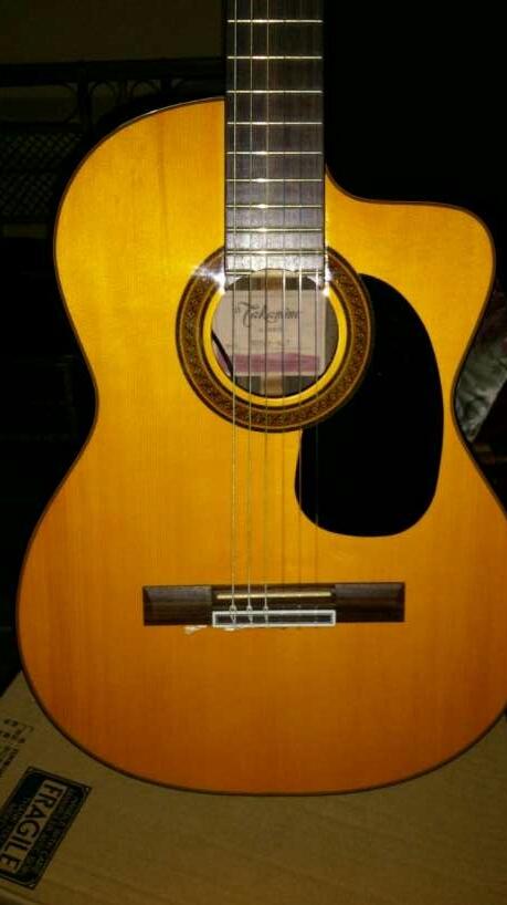 Guitarra con estuche takamine GC5 tapa - 4