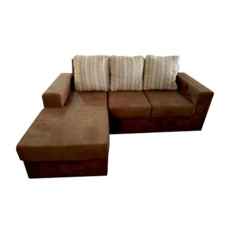 Sofa esquinero carina marron - 1
