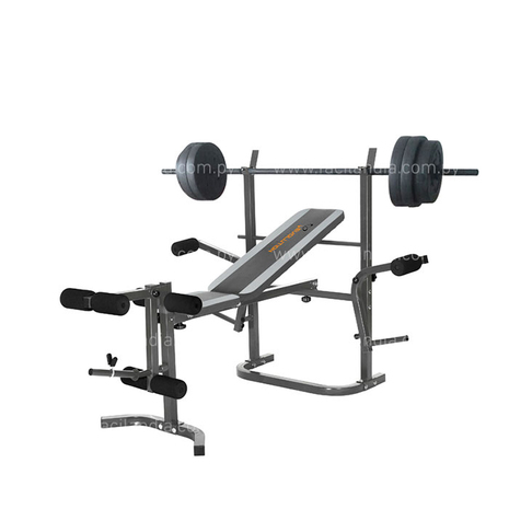 Banco de pesas fitness evoluti - 0