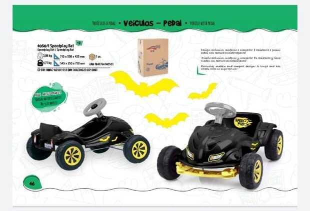 Auto A Pedal Play 4050/1 Batm - 0