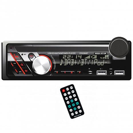 Autorradio Megastar Cdx384Bt - 0