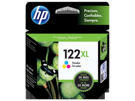 Cartucho de tinta HP 122 XL Color