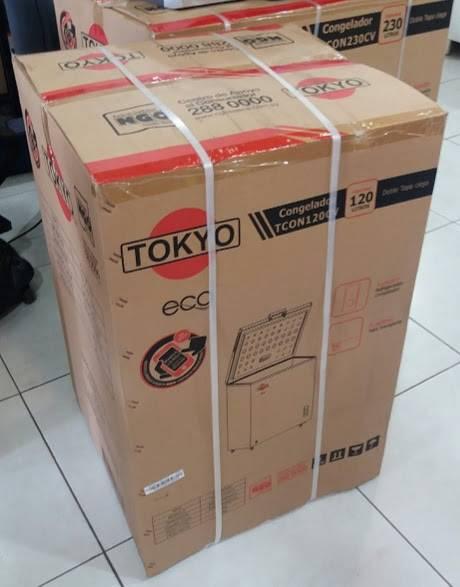Congelador Tokyo freezer horizontal 120 litros