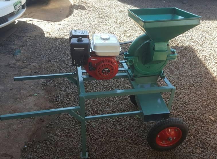 Picadora trituradora de grano