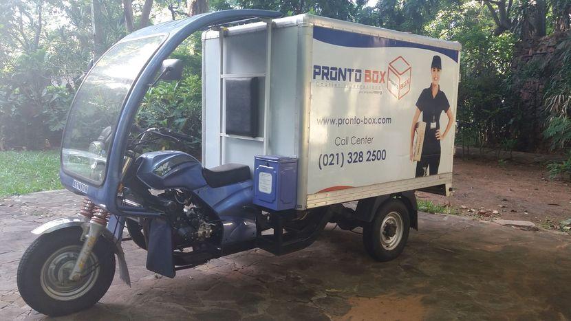 Moto carga Kenton furgon térmico 300 Kg de carga
