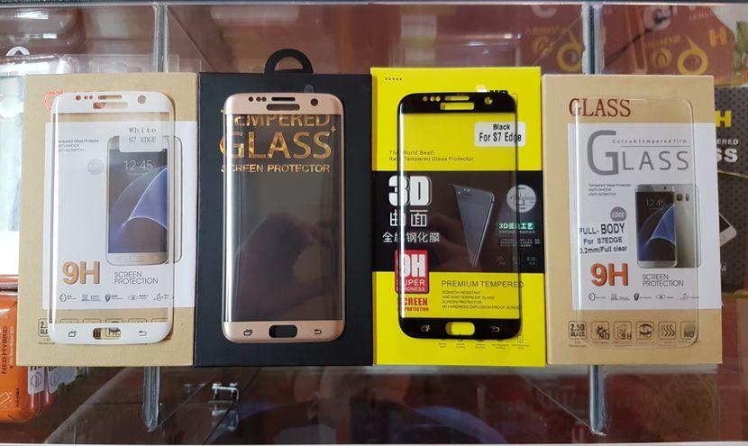 Lámina de vidrio para Samsung Galaxy S7 Edge