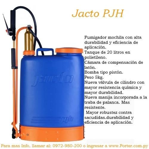 Fumigador Pulverizador Jacto PJH Mochila 20L