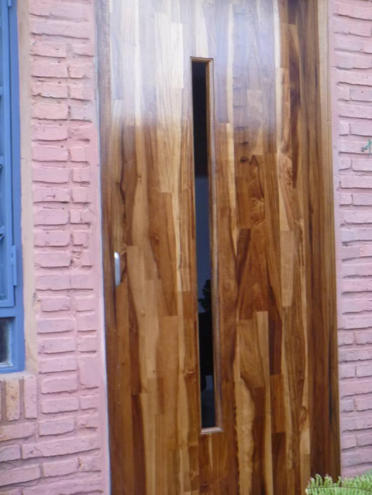 Puertas macizas