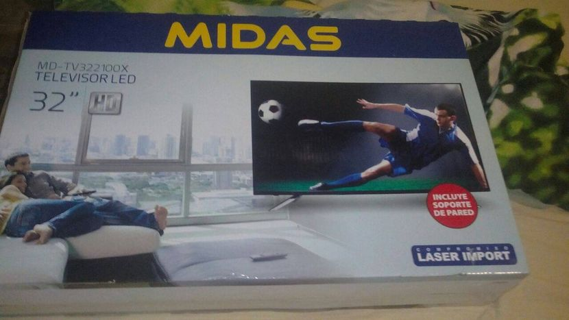 Tv led hd Midas 32 pulgadas