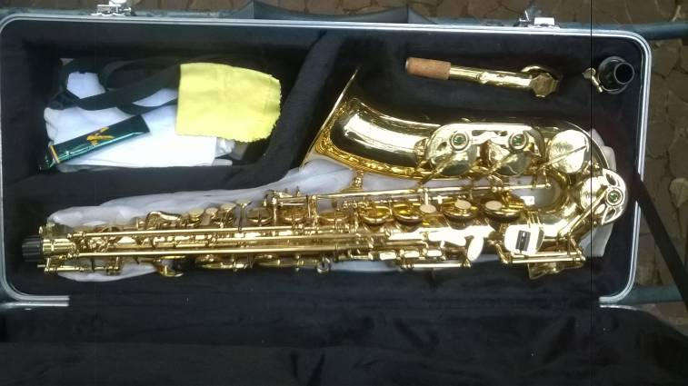 Saxofon parquer