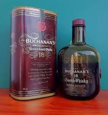 Whisky Buchanan 18 años