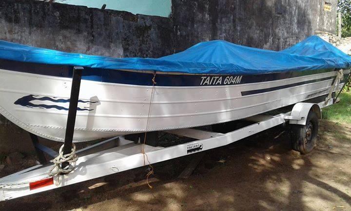Embarcación de aluminio yacare 2015