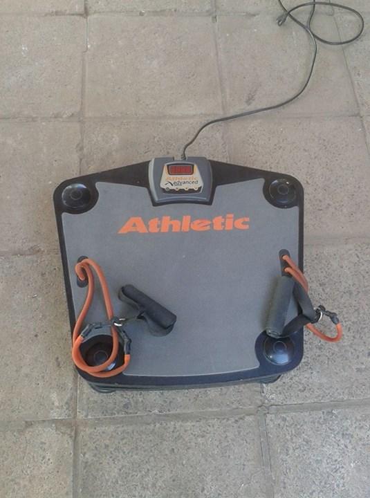 Plataforma vibradora Athletic