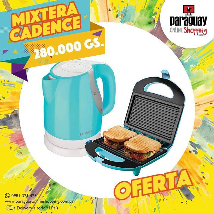 Mixtera y Hervidor Eléctrico Cadence