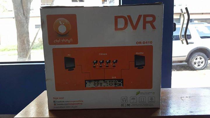 DVR Orange de 4 canales