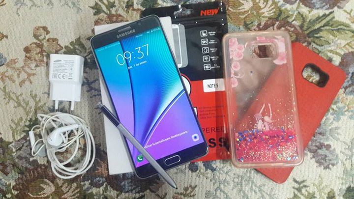 Samsung Galaxy Note 5 liberado