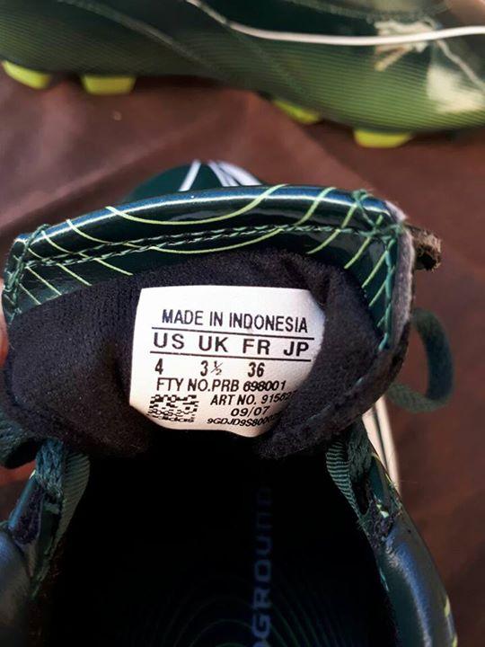 Botín Adidas calce 34