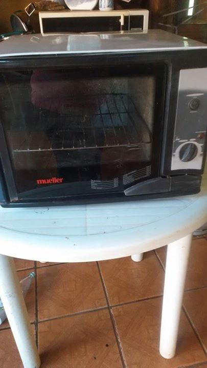 Cocina y horno eléctrico